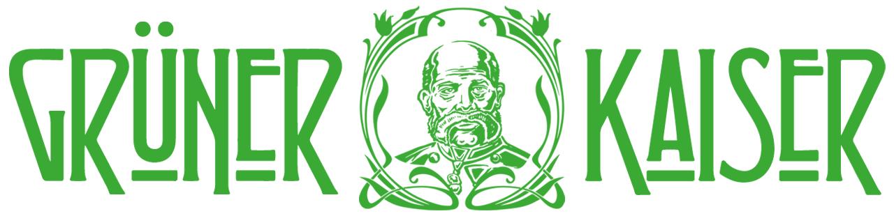 Grüner Kaiser CBD Hanf-Produkte-Logo